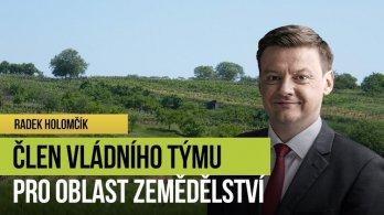 Radek Holomčík: Konec šikany zemědělců, důraz na udržitelnost a podpora venkova