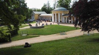 Moje místo - Pavilon Ferdinandova pramene v Mariánských Lázních