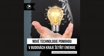 Nové technologie pomohou v budovách kraje šetřit energie
