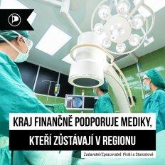 Královéhradecký kraj finančně podporuje studenty medicíny.