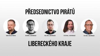 Piráti Libereckého kraje si do předsednictva zvolili ostřílené bukanýry i novou krev
