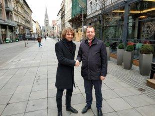 Ostrava může být prvním městem v Česku připojeným na železniční vysokorychlostní trať