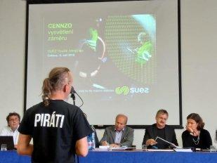 Piráti opět bojovali proti rozšíření spalovny nebezpečných odpadů v Ostravě