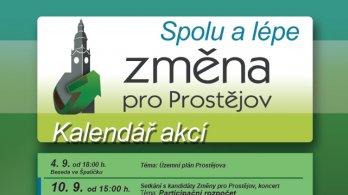 Změna pro Prostějov zahájí kampaň koncertem prostějovských kapel