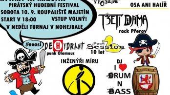Pirátský festival svobodné hudby v Majetíně