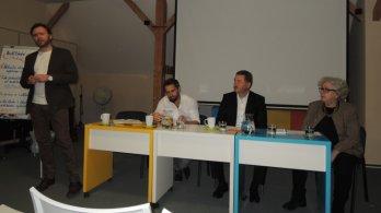 Vprostějovské knihovně se bavilo o vzdělávání a zaměstnanosti