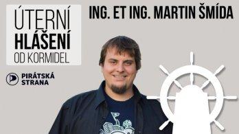 Úterní hlášení od kormidel - Martin Šmída