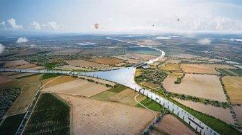 Společně pro Přerov a Piráti chtějí, aby město navždy odmítlo kanál Dunaj-Odra-Labe