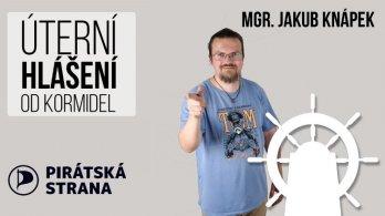Úterní hlášení od kormidel - Jakub Knápek