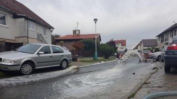 Povodně v Brodku u Přerova