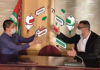 První letošní zasedání Zastupitelstva Plzeňského kraje úspěšně proběhlo on-line!