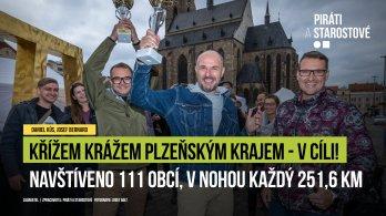 Piráti a Starostové prošli Křížem krážem Plzeňský krajem