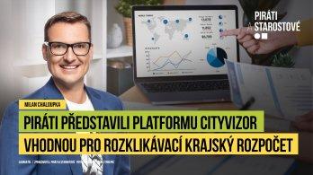 Piráti představili na výboru pro digitalizaci platformu rozklikávacího rozpočtu Plzeňského kraje