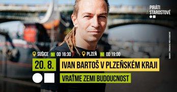 Ivan Bartoš v pátek navštíví Plzeňský kraj!