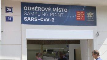 Praha zřídila odběrové místo na testování COVID-19