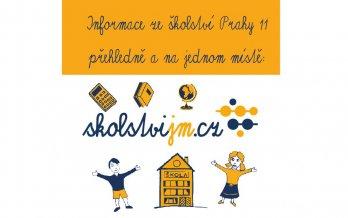 Praha 11 zmodernizovala web o jihoměstském školství, přináší přehledné informace a nový design