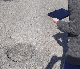Digitalizace a opravy silnic a chodníků