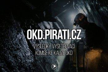 Piráti spustili nový web mapující vyšetřování kauzy OKD