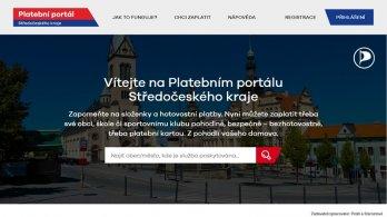 Středočeský Platební portál již běží v ostrém provozu