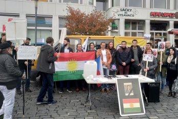 Za Rojavu se demonstrovalo i v Ústí