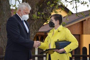 Třeštice na Jihlavsku získala speciální ocenění
